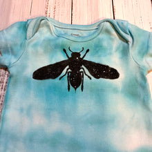 Load image into Gallery viewer, Infant Space Bee Manadala Romper One of A Kind