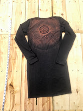 Load image into Gallery viewer, Medium Black Dress & One of a Kind Wearable Art