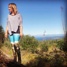"Load image into Gallery viewer, ""Reflection"" ~ Yoga Leggings Made in Canada"