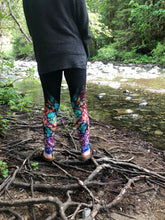 "Load image into Gallery viewer, ""Butterfly"" ~ Yoga Leggings Made in Canada"