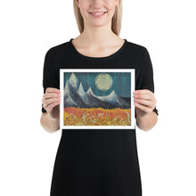 "Load image into Gallery viewer, ~ Hip Moon ~ 8"" x 10"" Art Print"