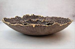 yomyom ceramic large fruit bowl