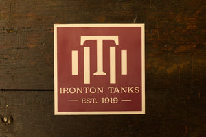 Tanks Sticker