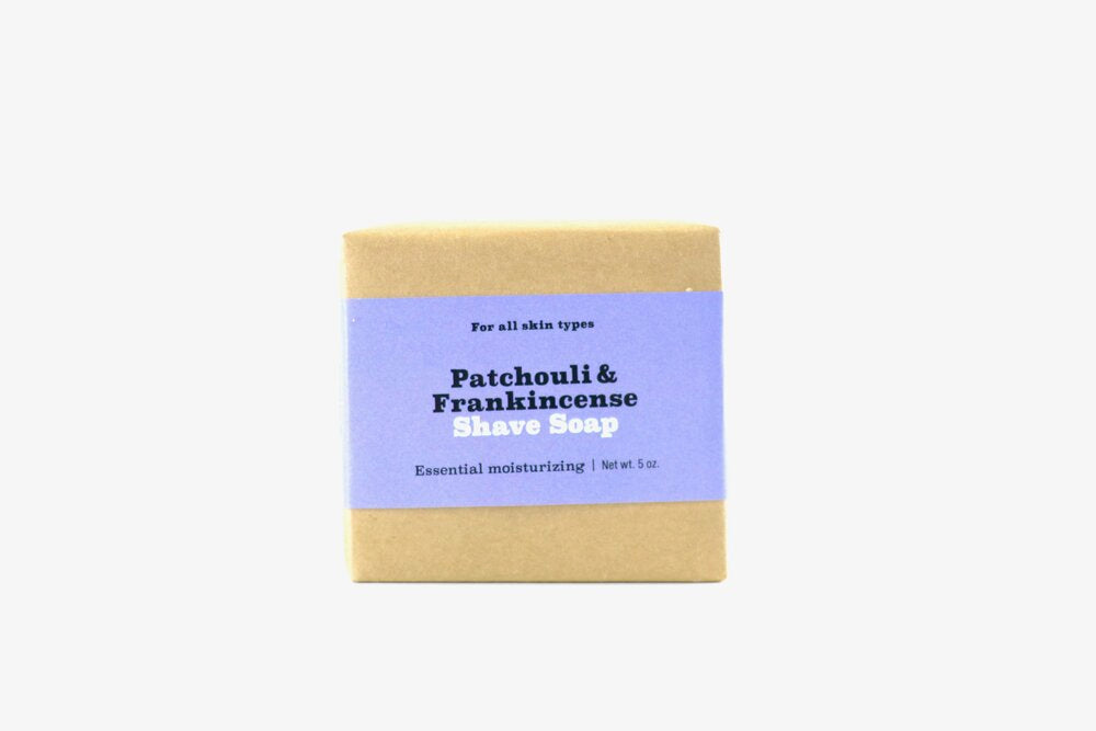 Patchouli & Frankincense Shave Soap