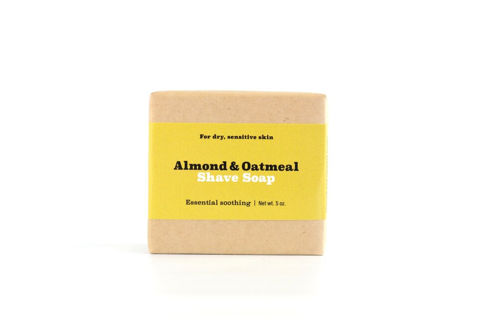 Almond Oatmeal Shave Soap