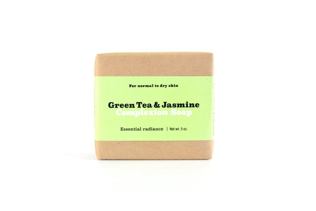 Green Tea & Jasmine Facial Soap