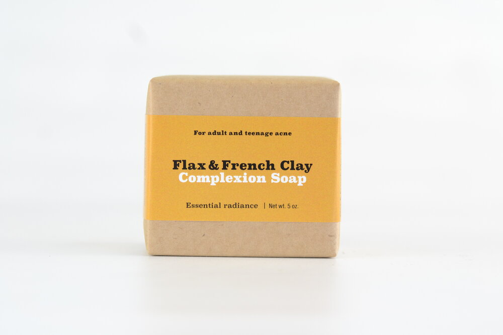 Flax & French Clay Facial Soap
