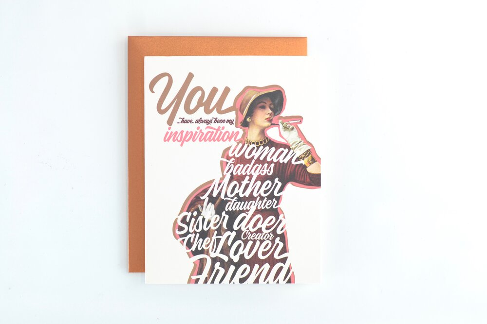 You Are My Inspiration Card