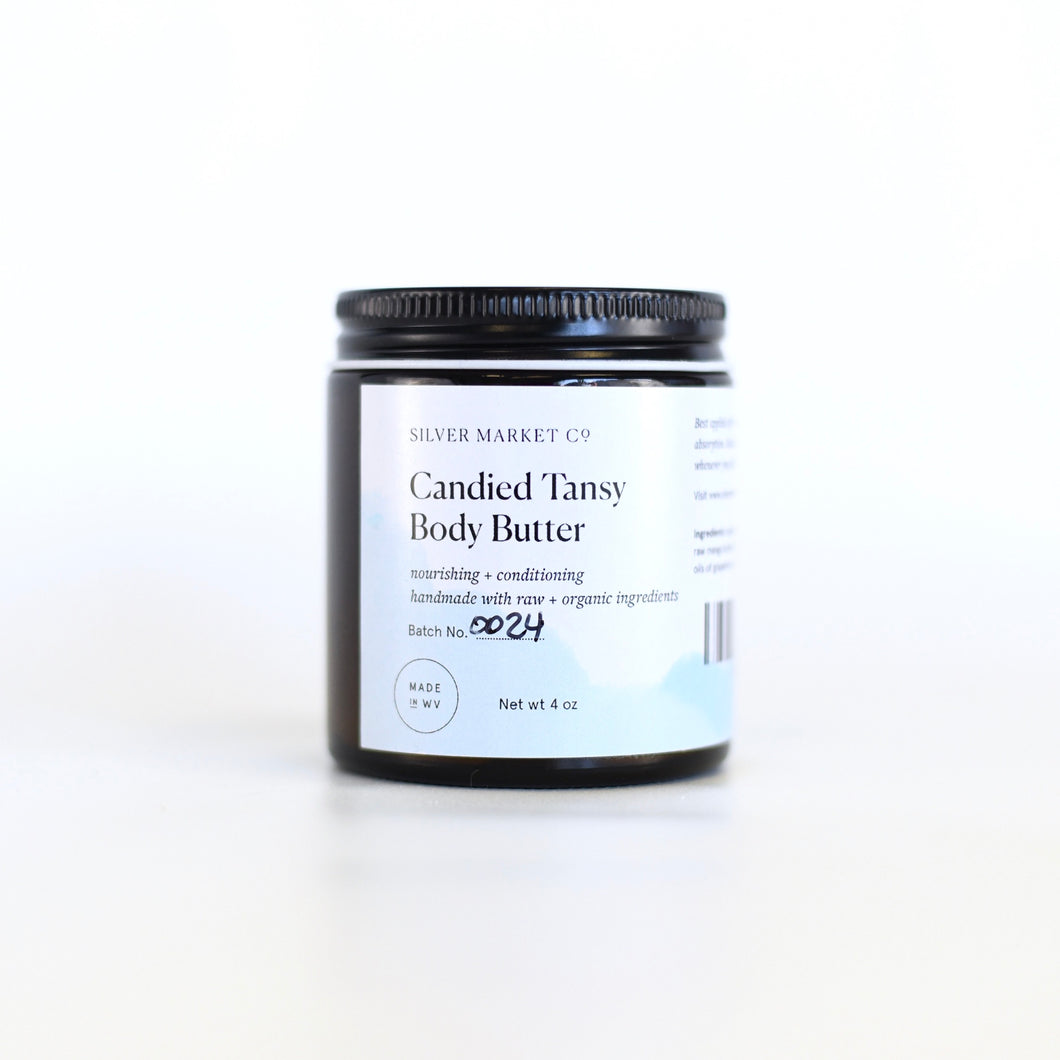 Candied Tansy Body Butter