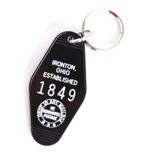 Load image into Gallery viewer, Ironton Hotel Keychain
