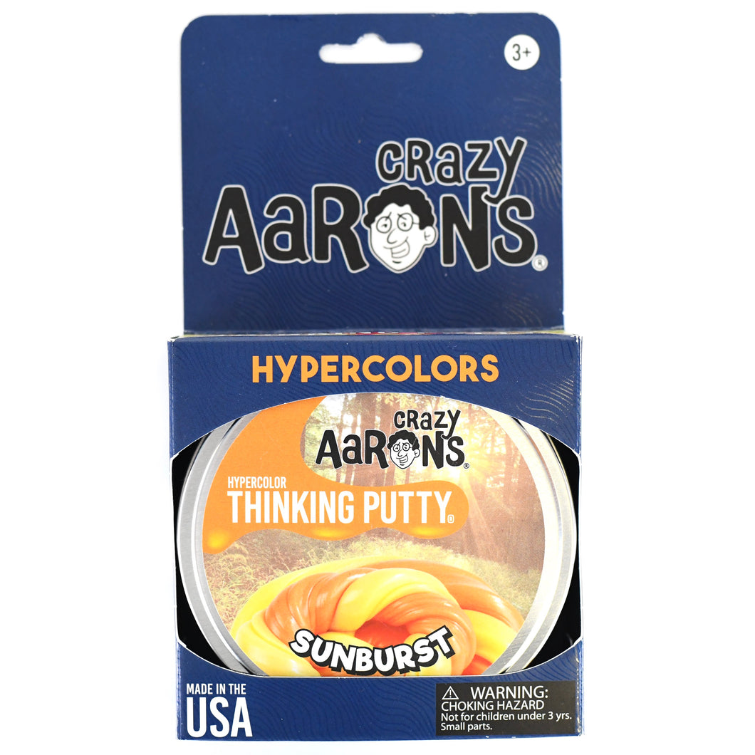 Sunburst Hypercolor Thinking Putty