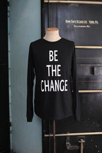 Load image into Gallery viewer, Be The Change Long Sleeve T-shirt