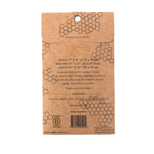 Bees Wrap- 3 Pack Assorted Sizes