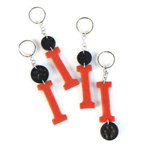 Load image into Gallery viewer, Ironton Tigers Keychain Collection