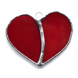 Small Heart Stained Glass Suncatcher Collection