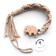 Load image into Gallery viewer, Macrame Pacifier Clip Collection
