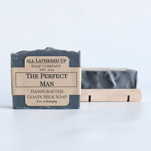 The Perfect Man Goats Milk Soap