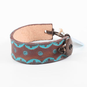 Hand Tooled Leather Cuffs Collection