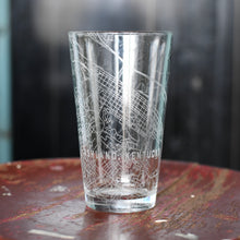 Load image into Gallery viewer, Map Engraved Pint Glass - Ashland, KY