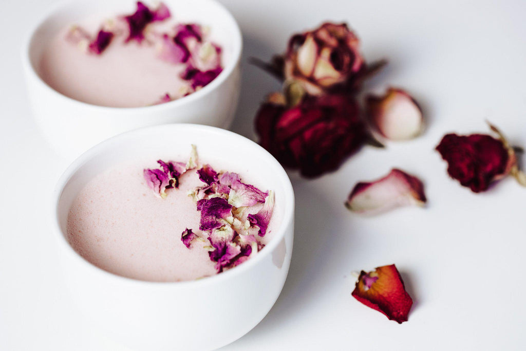 Rosa Moon Milk – Rezept