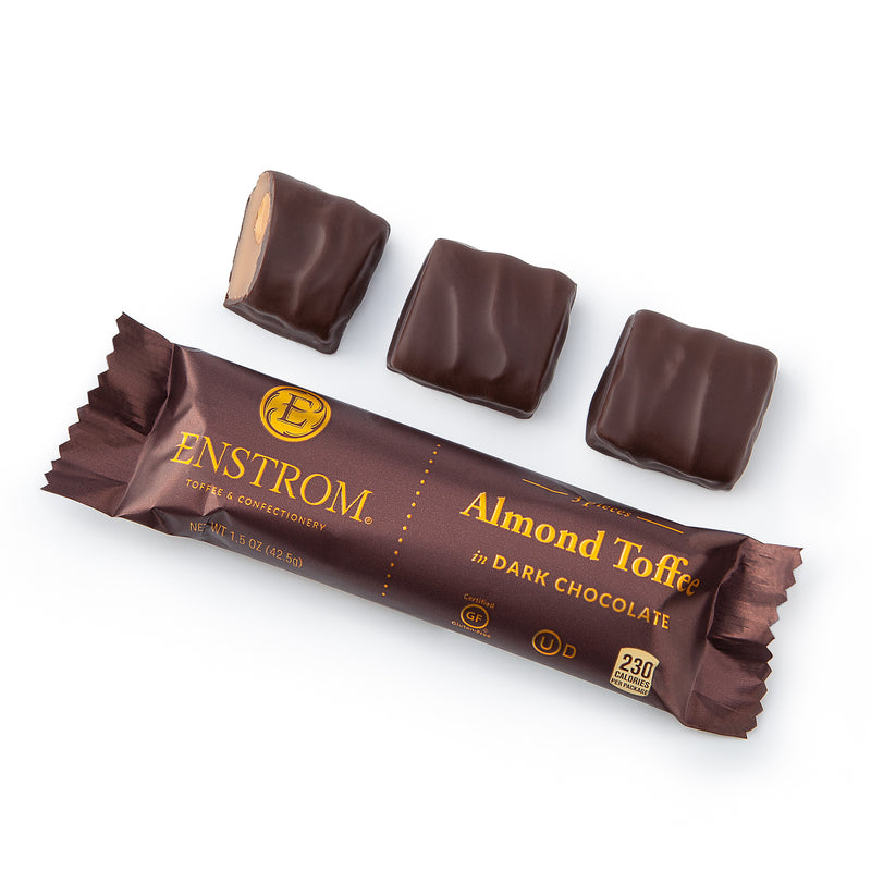 Enstrom 3oz Almond Toffee 3pc. Petites Bar