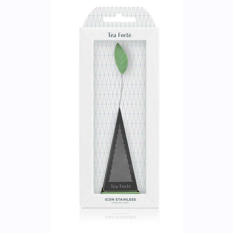 Tea Forte Icon Stainless Tea Infuser