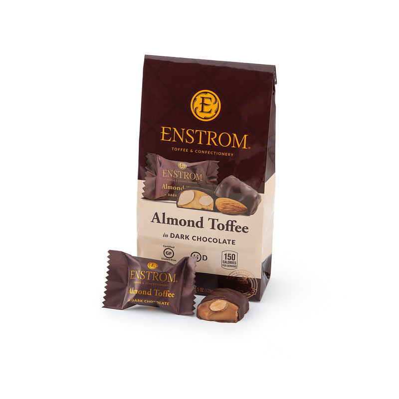 Enstrom 4.5oz Almond Toffee Petites Bag