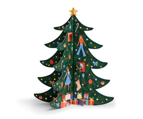 Rifle Paper Christmas Tree Advent Calendar