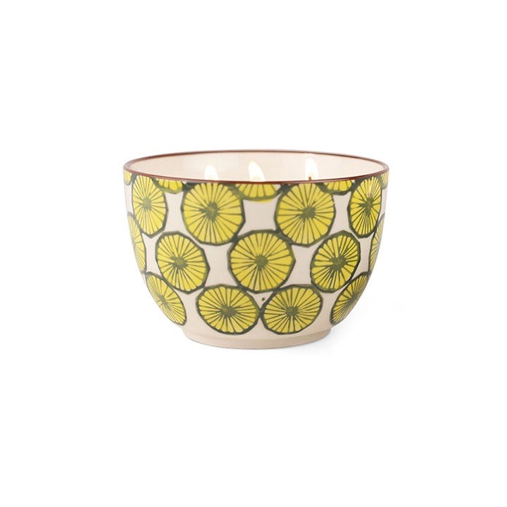 Paddywax Boheme 12.5oz Hand Painted Bowl