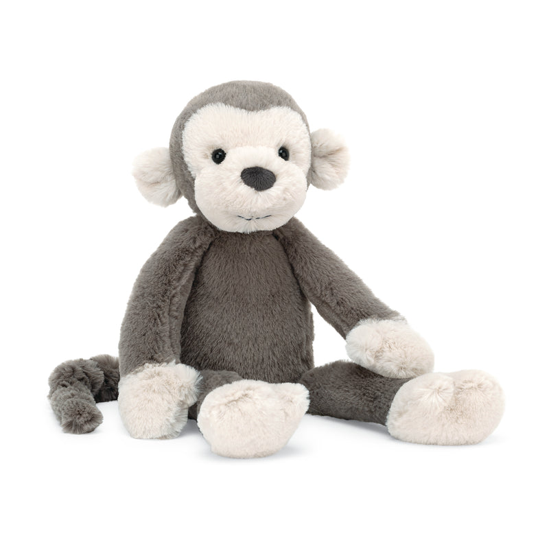 Jellycat Snugglet Brodie Monkey Small