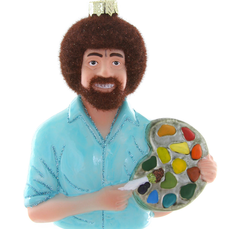 Cody Foster Ornament - Bob Ross