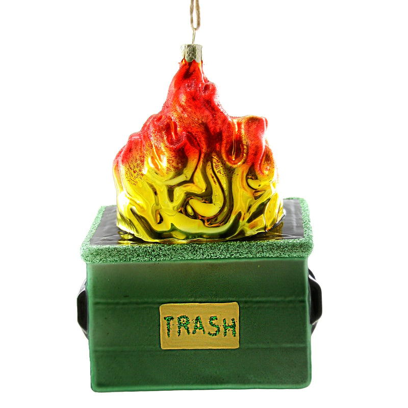 Cody Foster Ornament - Dumpster Fire
