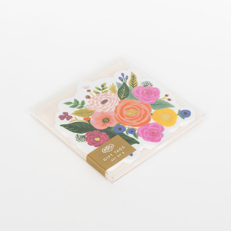 Rifle Paper Juliet Rose Die-Cut Gift Tags, Set of 8