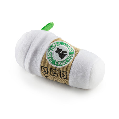 Haute Diggity Dog Starbucks Plush Toy With Lid