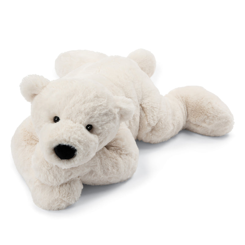 Jellycat Perry Polar Bear, lying pose; large