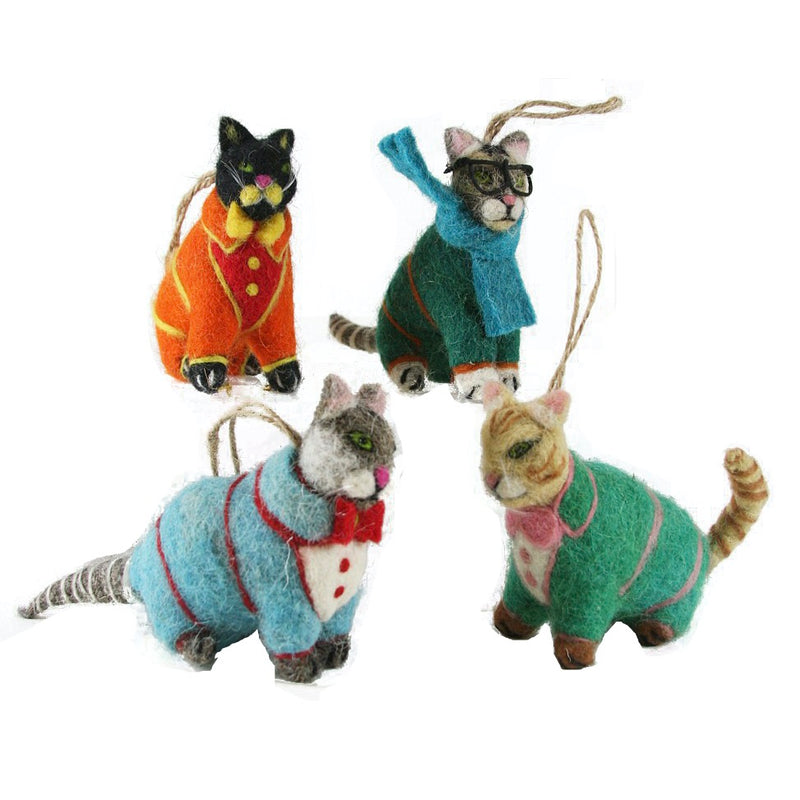 Cody Foster Ornament - Sweater Kittens