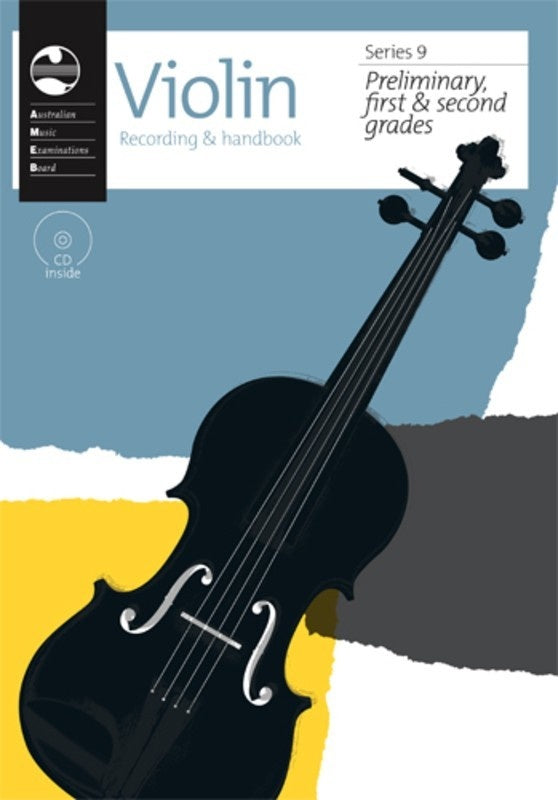 AMEB Violin Preliminary To Grade 2 Series 9 CD Recording Handbook