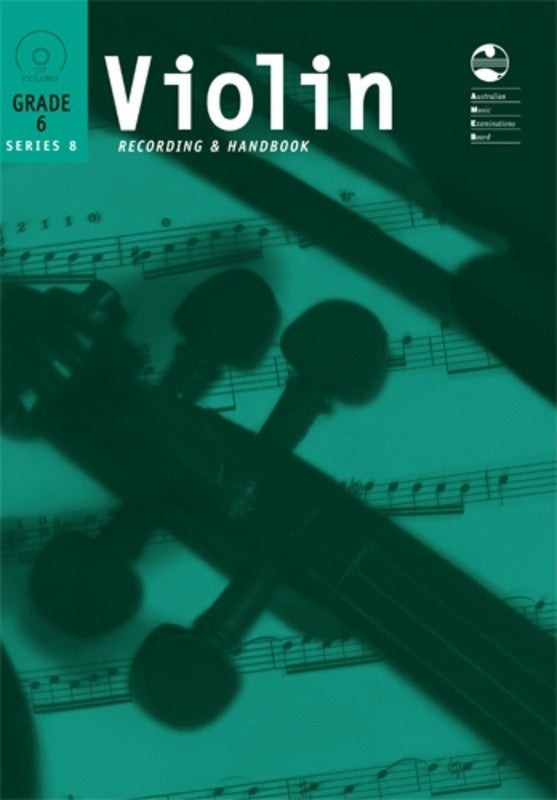 AMEB Violin Grade 6 Series 8 CD Recording & Handbook