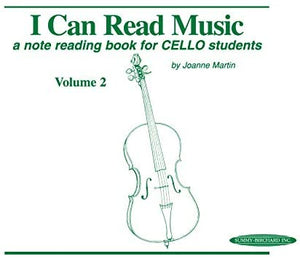 I Can Read Music, Volume 2 - Cello