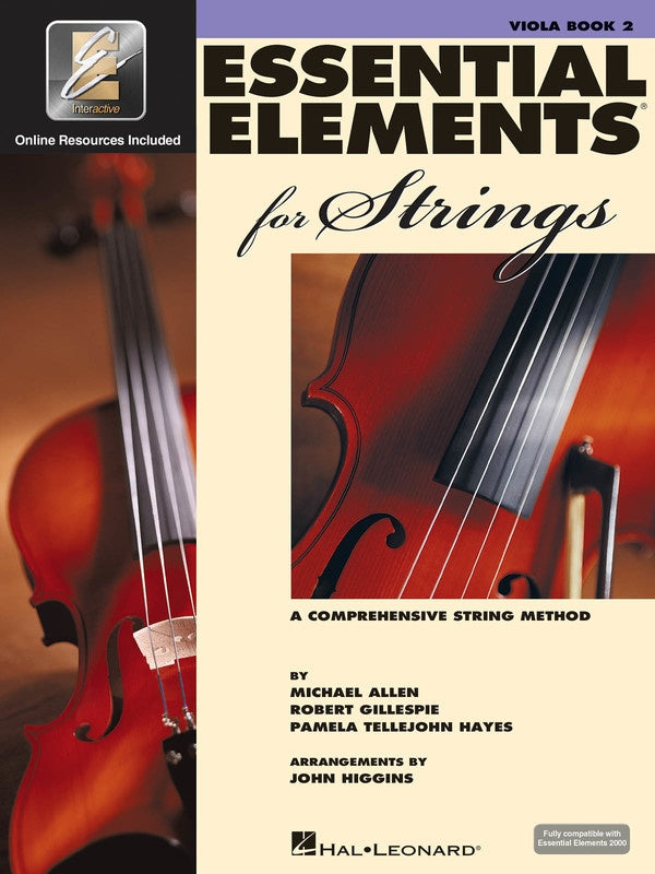 Essential Elements for Strings - Book 2 Viola with EEi