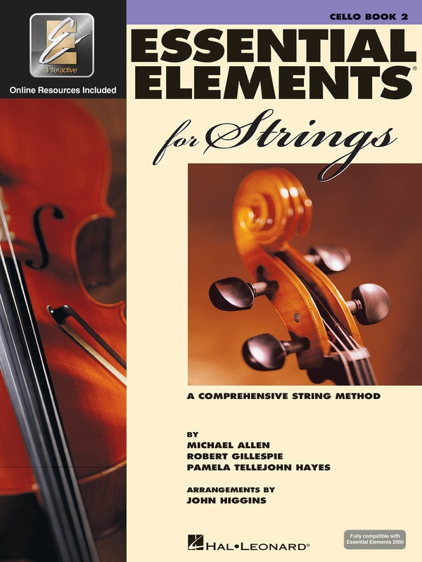 Essential Elements for Strings - Book 2 Cello with EEi
