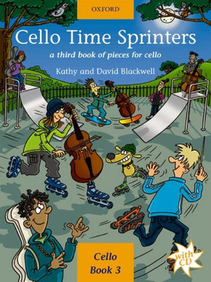 Cello Time Sprinters + CD