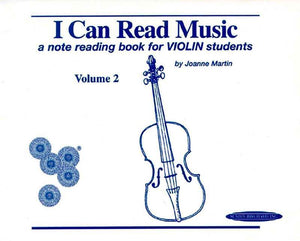 I Can Read Music Volume 2 - Violin