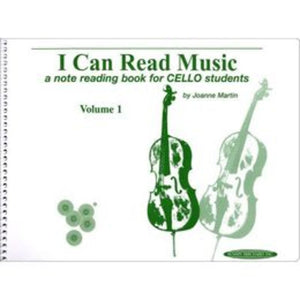 I Can Read Music, Volume 1 - Cello