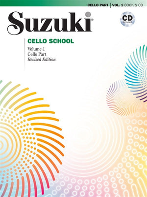 Suzuki Cello School Cello Part & CD, Volume 1
