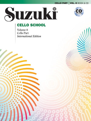 Suzuki Cello School Cello Part & CD Vol. 8