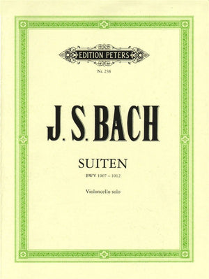 J.S. Bach - 6 Suites for Solo Cello BWV 1007-1012