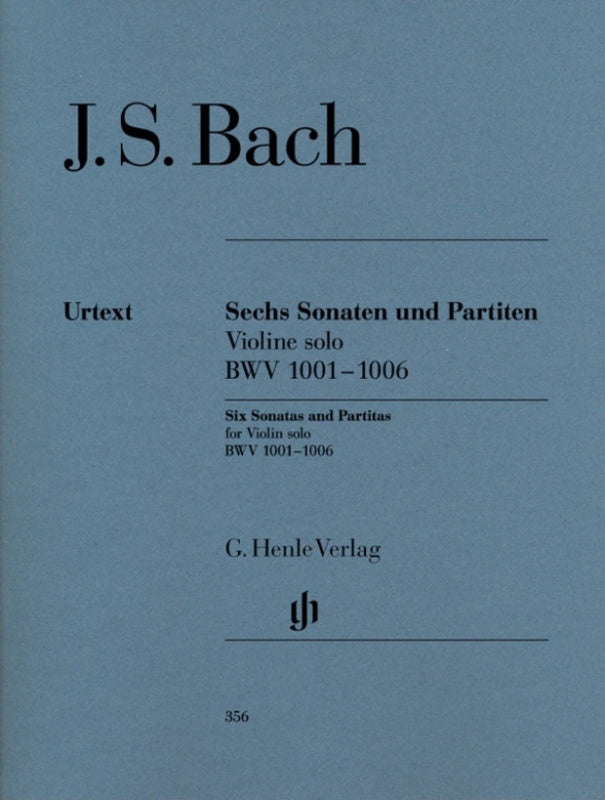 J.S. Bach - 6 Sonatas and Partitas BWV 1001-1006 for Violin solo (Urtext)