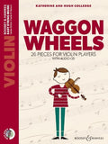 Waggon Wheels Violin Bk & CD - 26 Pieces (New Ed.)