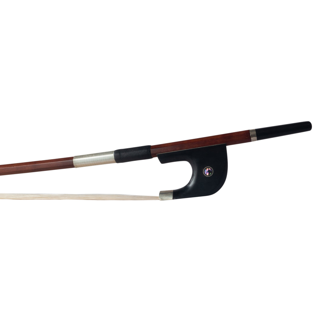 Wooden Student Double Bass Bow - 1/8 German Style